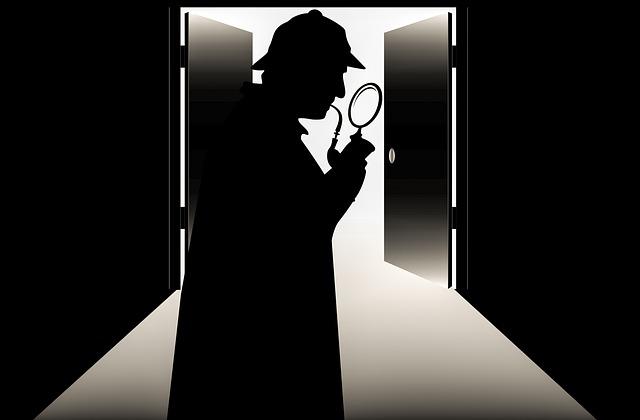 Silueta detektiva